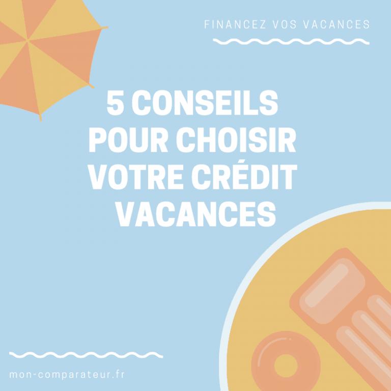 5 conseils pour financer ses vacances